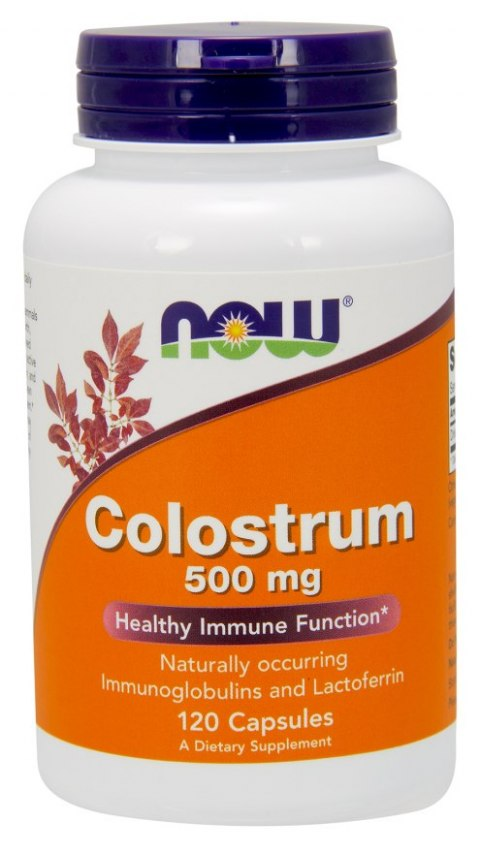 NOW FOODS Colostrum 500mg, 120caps.