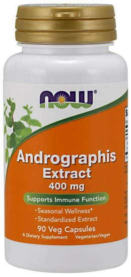 NOW FOODS Andrographis Extract 400mg, 90vcaps.